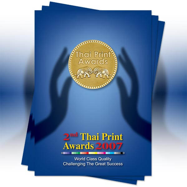 2nd Thai Print Awards Book 2007
