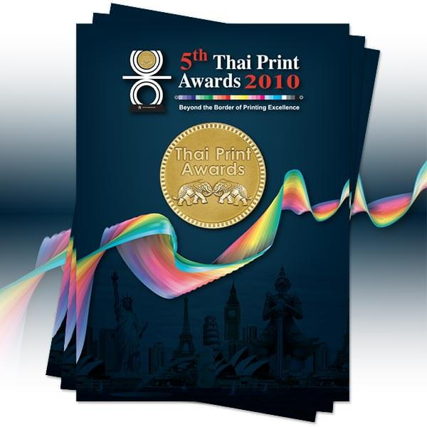 5th Thai Print Awards Book 2010